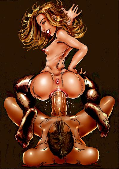3д графика комиксы порно
