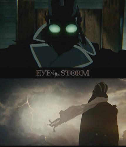 Глаз бури / Eye of the Storm (Кристофер Эйлендер / Christopher Alender / Chris Alender) [2011, США, анимация, драма, стимпанк, короткий метр, DVDRip]