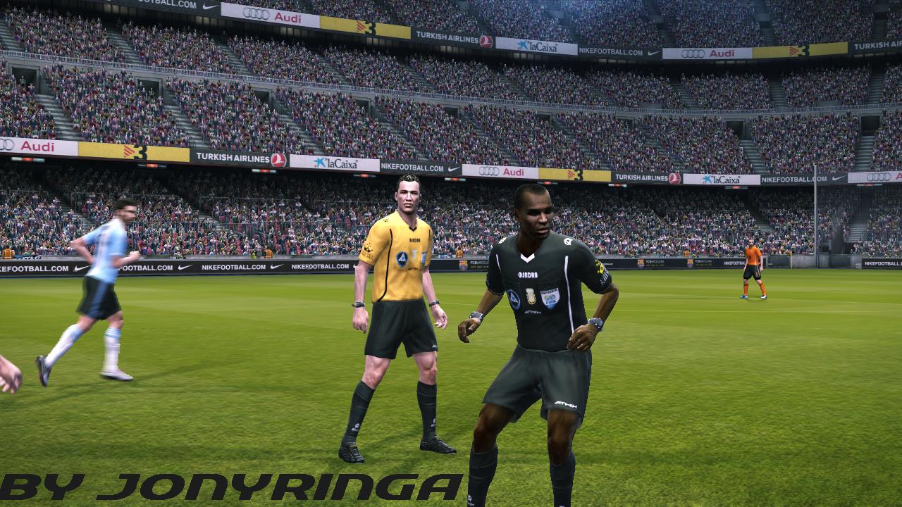 PES 2011 Arbitros Copa Libertadores y Futbol Argentino by jonyringa