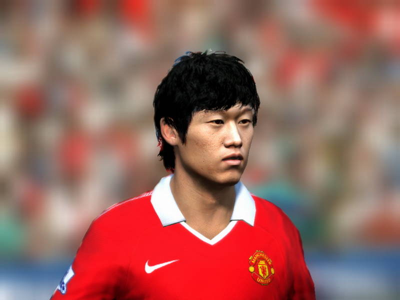 lm6obj59 Park Ji Sung Face 2011 v1.0 for FIFA 11