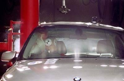 Краш-тест BMW 520i