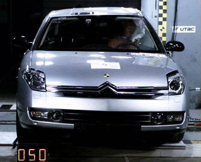 Crash-test Citroen C6