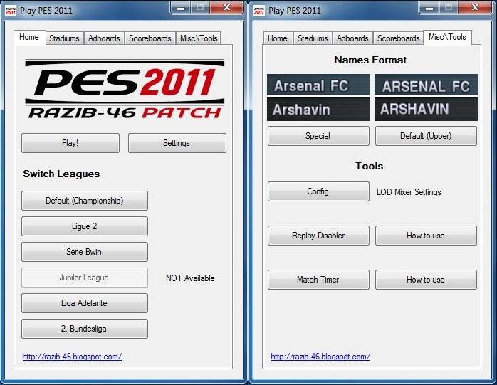 PES 2011 Patch 1.2 by razib_46