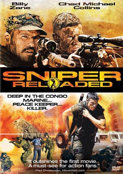 Снайпер 4 / Sniper: Reloaded (2011/Blu-ray/HDRip/1400Mb/700Mb)