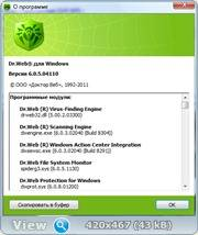 Dr.Web Anti-virus & Security Space Pro ® 6.0.5.04110 (2011) PC