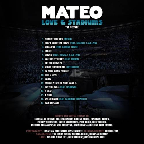 Mateo - Love & Stadiums (2011)