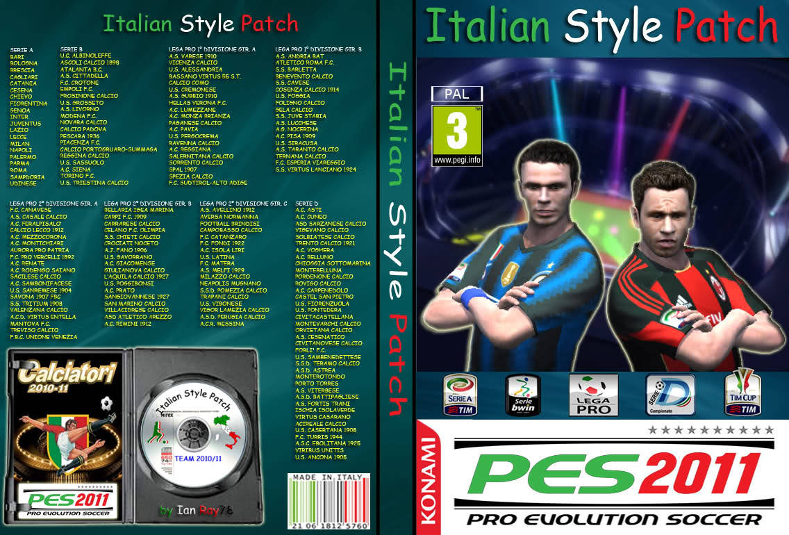 Italian Style Patch 2011 v5.0 by Ian Ray78