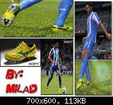 pes 2011 Mizuno boots [Hulk's] by milad