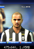 Pepe face for PES2011 by elzaloi patch