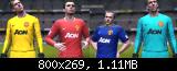 PES 2011 Manchester United FC 2011/2012 by davidceva30