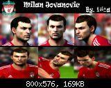 FIFA 11 Milan Jovanovic Face