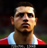 FIFA 11 Javier Hernandez Face by Torres A