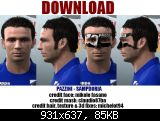 Pazzini face for PES2011 by rayallen