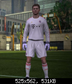 FIFA 11 Bayern Munich 11-12 GK Kit