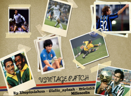 Vintage patch 2.1 Pes 2011 by Thepiwishow