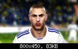 FIFA 11 Karim Benzema Face
