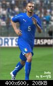 FIFA 11 Italy Home & Away Kits