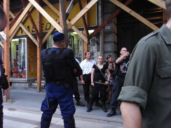 Budapest Pride Nazis I