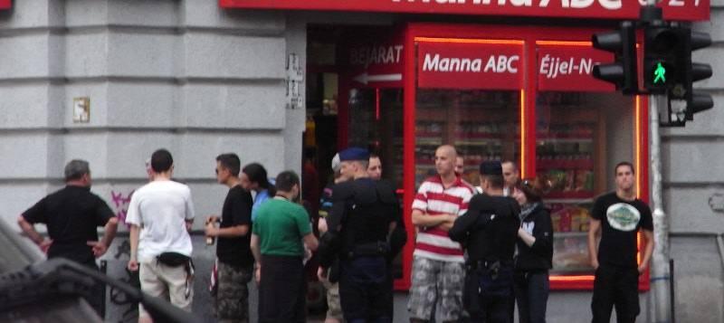 Budapest Pride Nazis