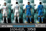 Kit's Adidas Olympique de Marseille 2011/2012 by JeanRamone