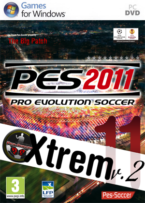 [MULTI] Big Patch Xtrem11 v.2 + Update 2.01 [PES2011]