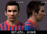 pes 2011 Messi Face by ilhan (v.3)
