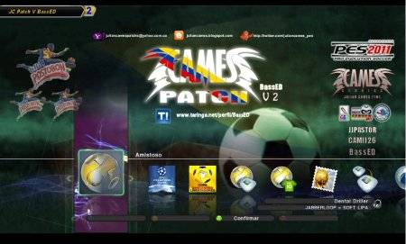pes 2011 Colombian League Julian Cames Patch v2 BassED
