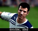 FIFA 11 Rafael Van Der Vaart Face
