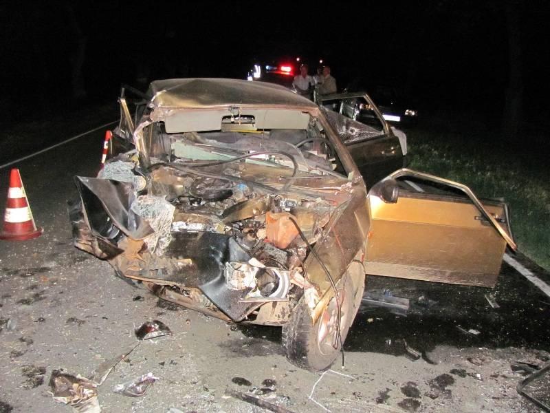 Страшная авария, четыре погибших, трое пострадавших