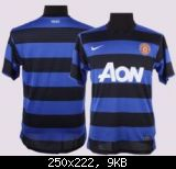FIFA 11 Manchester United Away Kit 11/12