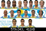 FIFA 11 Uruguay Faces Pack