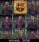 FIFA 11 Barcelona Face Pack