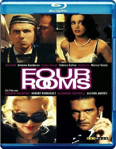 Четыре комнаты / Four Rooms (1995) BDRip 720p + 1080p + BDRip-AVC