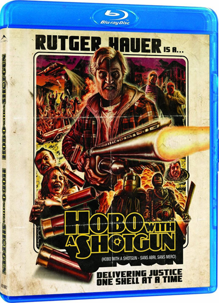 Бомж с дробовиком / Hobo with a Shotgun (Джейсон Айзенер / Jason Eisener) [2011, боевик, триллер, криминал, BDRip-AVC] AVO (А. Карповский) + Subs rus, eng + Original eng