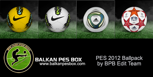 PES 2012 Demo Ballpack