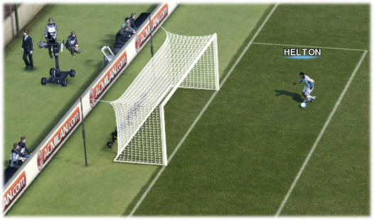 White nets for pes 2012 demo