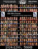 FIFA 11 Mini Face Patches v06: English Premier League 2010/11