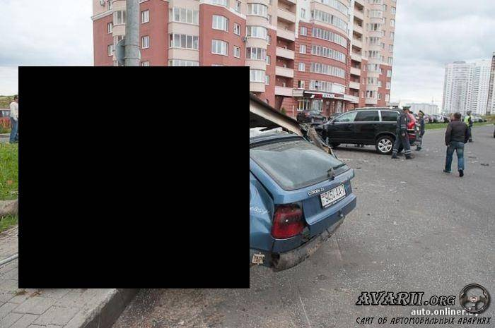 Страшная авария в Минске жесть!