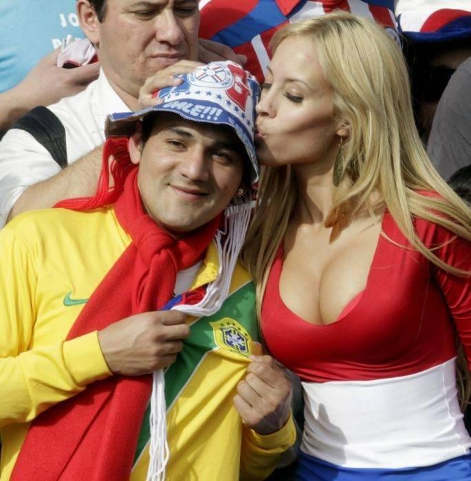 Kibicki z Copa America 17