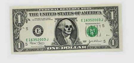 Banknoty 1$ 6