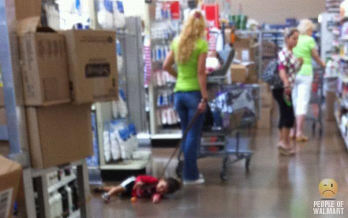 Najdziwniejsi klienci z WalMart #2 7