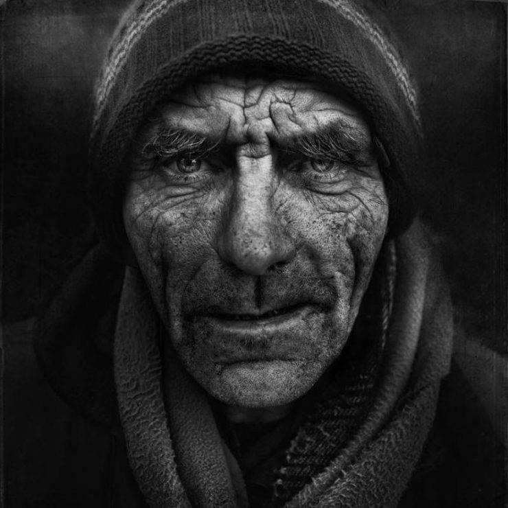 Niezwykłe zdjęcia bezdomnych. 16