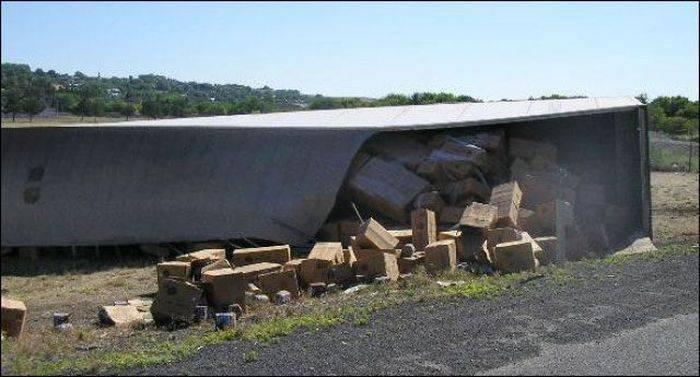 Wypadki ciężarówek 43