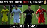 FIFA 11 Kit Set Real Madrid 2012 Fly Emirates