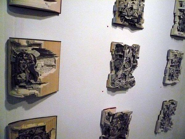 Rzeźby z książek. 9