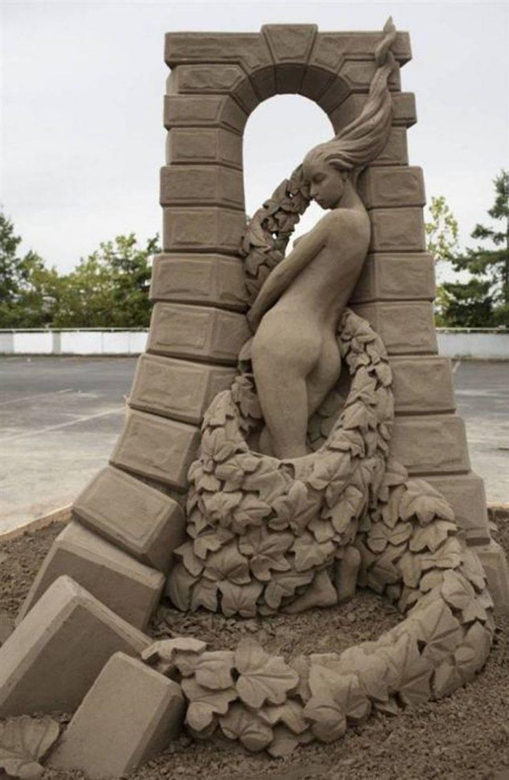 Najlepsze rzeźby z piasku na świecie. 6