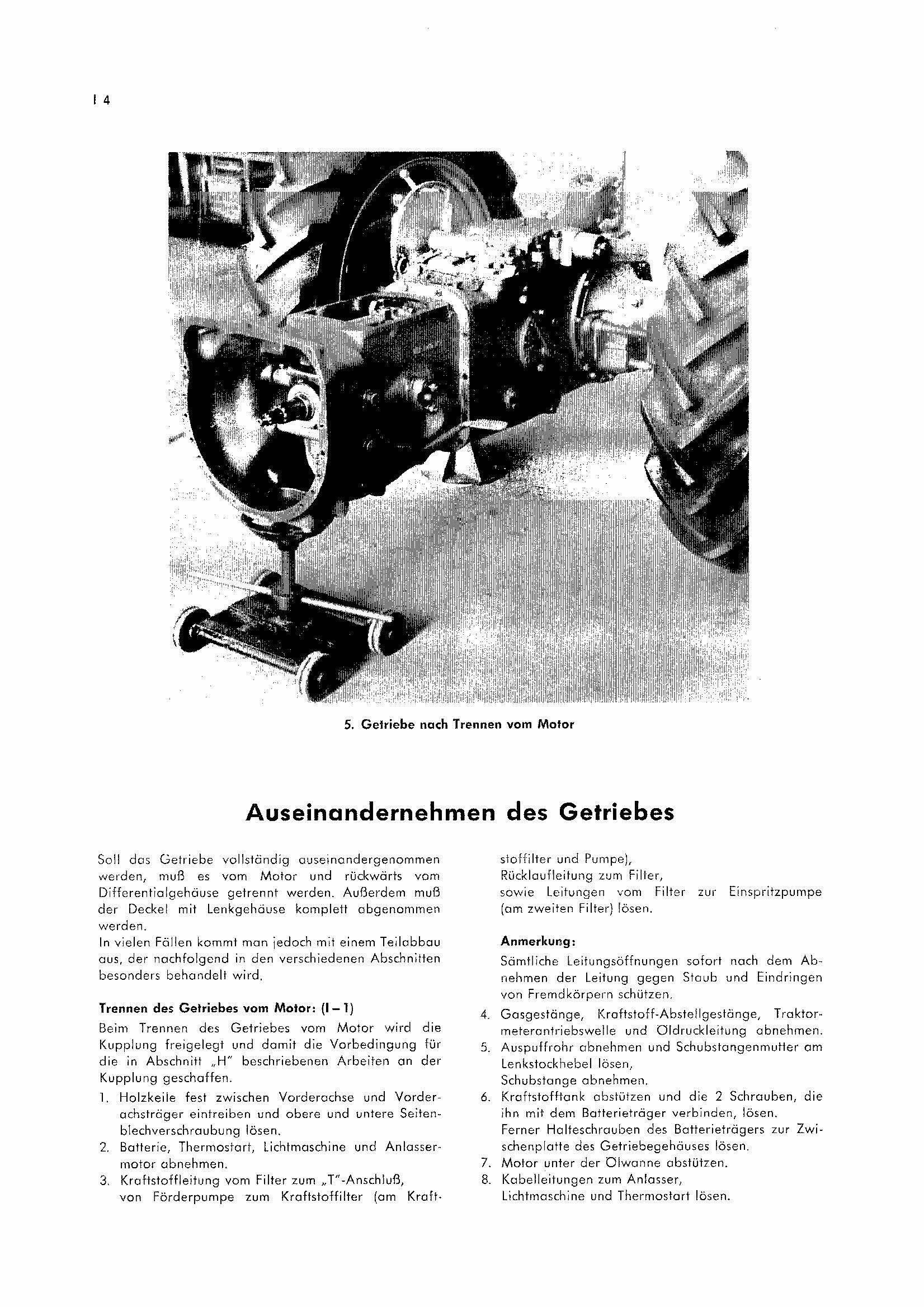 Getriebeeinganswelle Aus Dem Geh Use Nehmen Das Deutsche