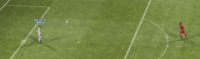 PES2012 No ball cursor