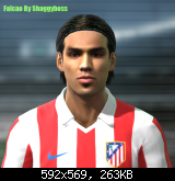 Radamel Falcao PES11
