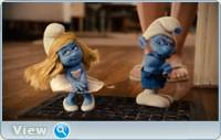 Смурфики / The Smurfs (2011) DVDRip-AVC
